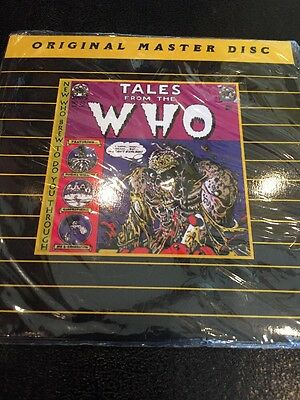 The Who Tales from The Who Live  CD Original Master Disc NIP Rare Phila. '73