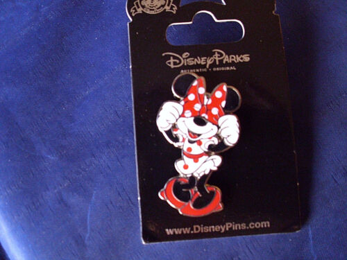 Disney * MINNIE * PEEK A BOO with HAIRBOW * New on Card Trading Pin