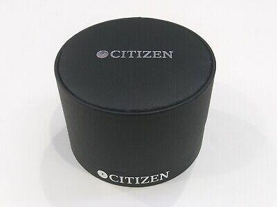 100% Wahr Citizen Schwarz Uhrenschatulle Präsentation Anzeige Aufbewahrungstasche SpäTester Style-Online-Verkauf Von 2019 50%