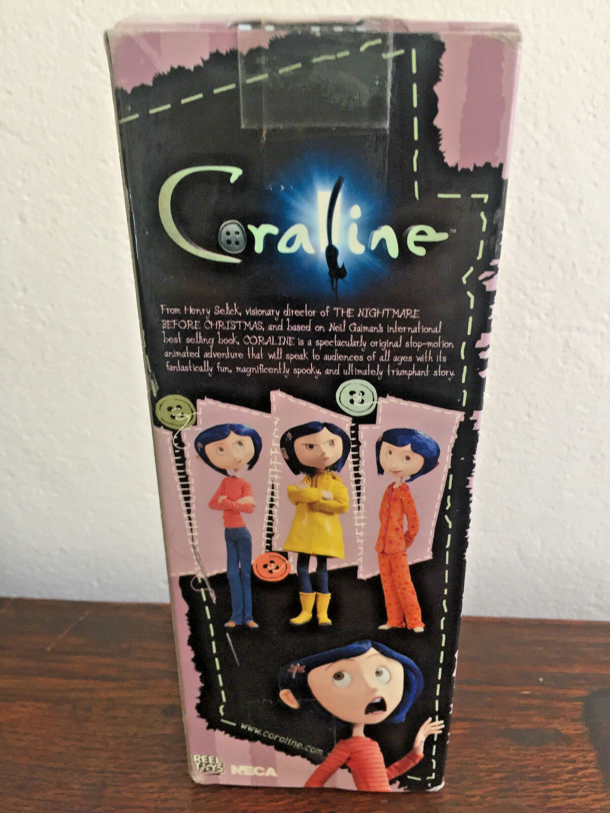 Rare OrigInal Coralline Coralline Coralline Figure 7  NECA Pajamas PJs New In Box Laika 2009 Toy 3b1435