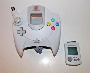 Official-Sega-Dreamcast-Controller-w-Matching-VMU-New-Batteries-OEM-HKT-7700