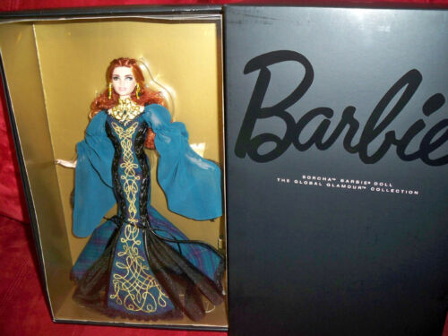 The Global Glamour Sorcha Barbie Doll NRFB Mattel DYX75 with Shipper Brand new