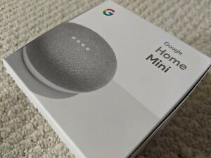 Google-Home-Mini-Smart-Speaker-with-Google-Assistant-Chalk-USED-FLAWLESS