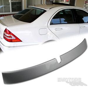 2007 C230 C320 C350 For Mercedes Benz 4D Sedan W203 A Type Trunk Spoiler Unpaint