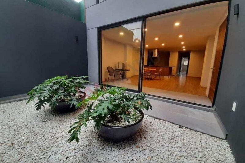 GARDEN HOUSE NUEVO EN PB, EN AV. POPOCATÉPETL, PORTALES SUR CDMX