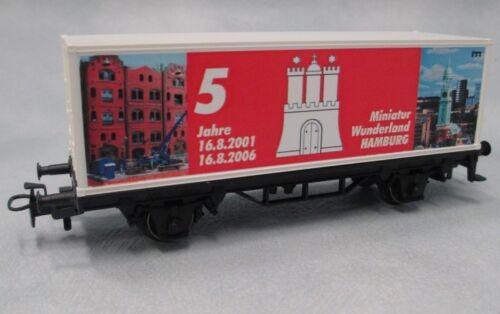 """MÄRKLIN 94285 Containerwagen /""""5 Jahre Miniatur Wunderland/"""""""