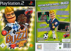 PS2 Buzz! Das Sport-Quiz Buzz Sport Quiz OVP Playstation 2 BESTSELLER