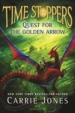 Time Stoppers: Quest for the Golden Arrow by Carrie Jones (2017, Hardcover)
