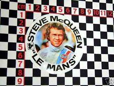 Steve McQueen Aufkleber für 1970er jahre Porsche 911 - Le Mans