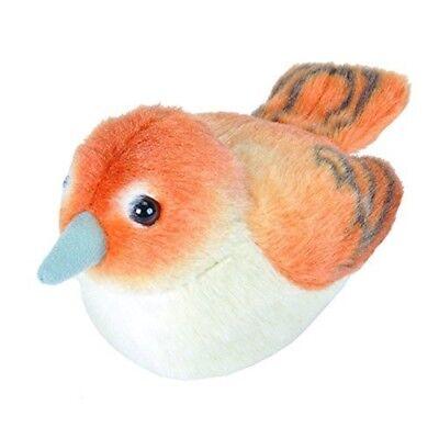 "14cm RSPB Bullfinch Soft Toy Plush 19498 Wild Republic Birds With Sound 5/"""