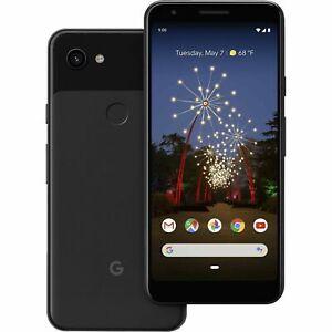 Google-Pixel-3a-64GB-Just-Black-Schwarz-Android-Ohne-Simlock-OLED-NEU