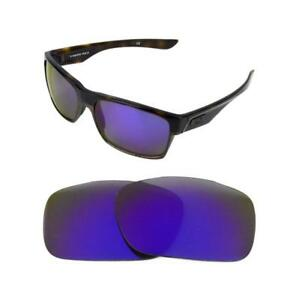 df66d80499 NEW POLARIZED PURPLE REPLACEMENT LENS FOR OAKLEY TWO FACE SUNGLASSES ...