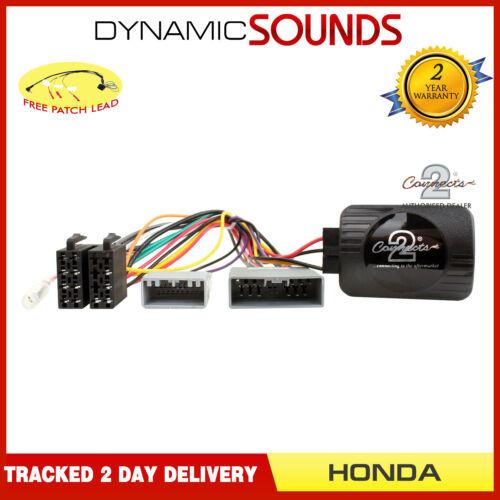 Ctsho 001.2 adaptador de control del volante de tallo para Honda City Civic Híbrido