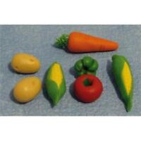 Vegetable Selection 1:12 Scale For Dolls House D952