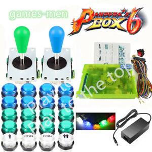 Pandora's Box 6 1300 in 1 ARCADE À faire soi-même Kit 2 joysticks DEL Bouton Game Board Set