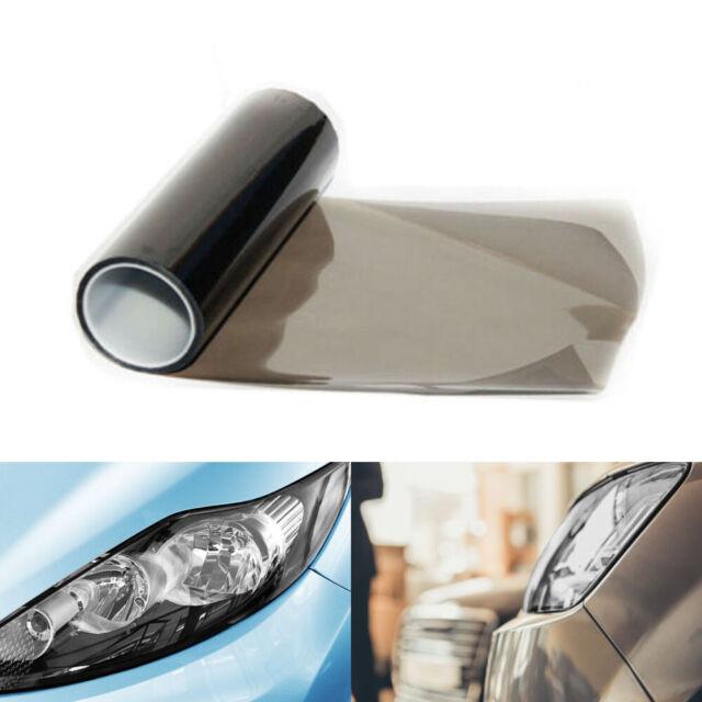30cmx150cm Light SmokeBlack Tint Film Headlights Tail lights Car Vinyl Wrap IN9