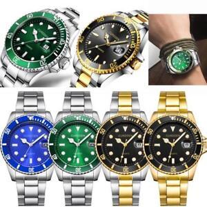 CURDDE-Men-Fashion-Military-Stainless-Steel-Date-Sport-Quartz-Analog-Wrist-Watch