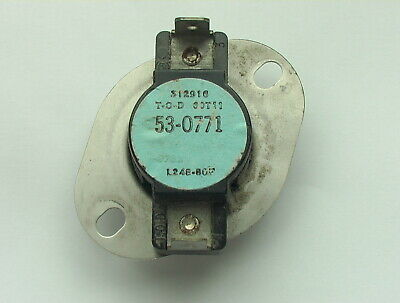 53-1096 GAS DRYER HIGH LIMIT THERMOSTAT FITS MAYTAG AMANA MAGIC CHEF JENN AIRE