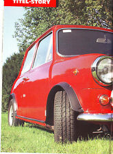 Innocenti Mini Cooper 1300/MG RV8/MGA/Daimler 2.5 Litr/British Classic Cars 6/05