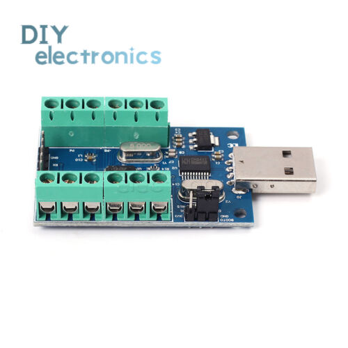 USB 10 Channel 12Bit AD Data Collection Board STM32 UART ADC ModuleUS