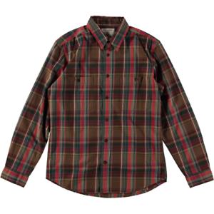 Filson Wildwood Shirt Red Green Brown