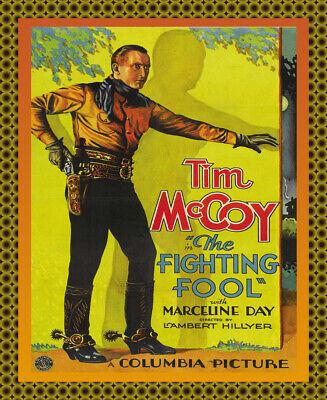 8590.Decoration movie Poster.Home Room wall art design.Tim McCoy Cowboy Western