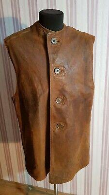 WW2 leather jerkin