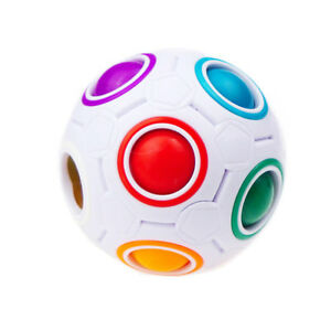 Finger-Hand-Spinner-Stress-Relief-Kid-Gift-Toy-Magic-Fidget-Cube-Ball-Puzzle-Toy