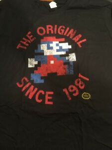 Nintendo-Mario-The-Original-Since-1981-Adult-Size-XL-T-Shirt-Loot-Crate