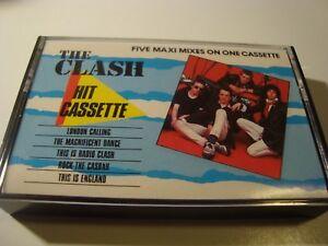RAR-CASSETTE-THE-CLASH-HIT-CASSETTE-MADE-IN-SPAIN-CBS