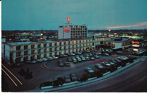 Boise-ID-034-The-Downtowner-Motel-034-Postcard-Idaho-FREE-U-S-SHIP