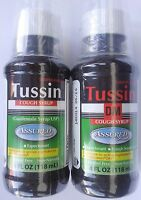 Tussin Cough Syrups Generic Robitussin /dm 4 Oz Select: Expectorant Or Dm
