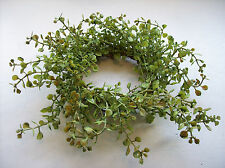 """10"""" Baby's Grass Ring, Fits 3"""" Candles, Candle Ring, Candle Wreath"""