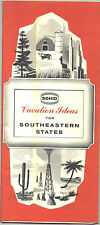 "1964 Sohio ""Vacation Ideas"" for Southeastern States Travel Booklet"