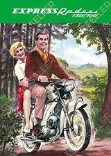 Express Radexi 136 166 Motorrad Poster Plakat Bild Affiche