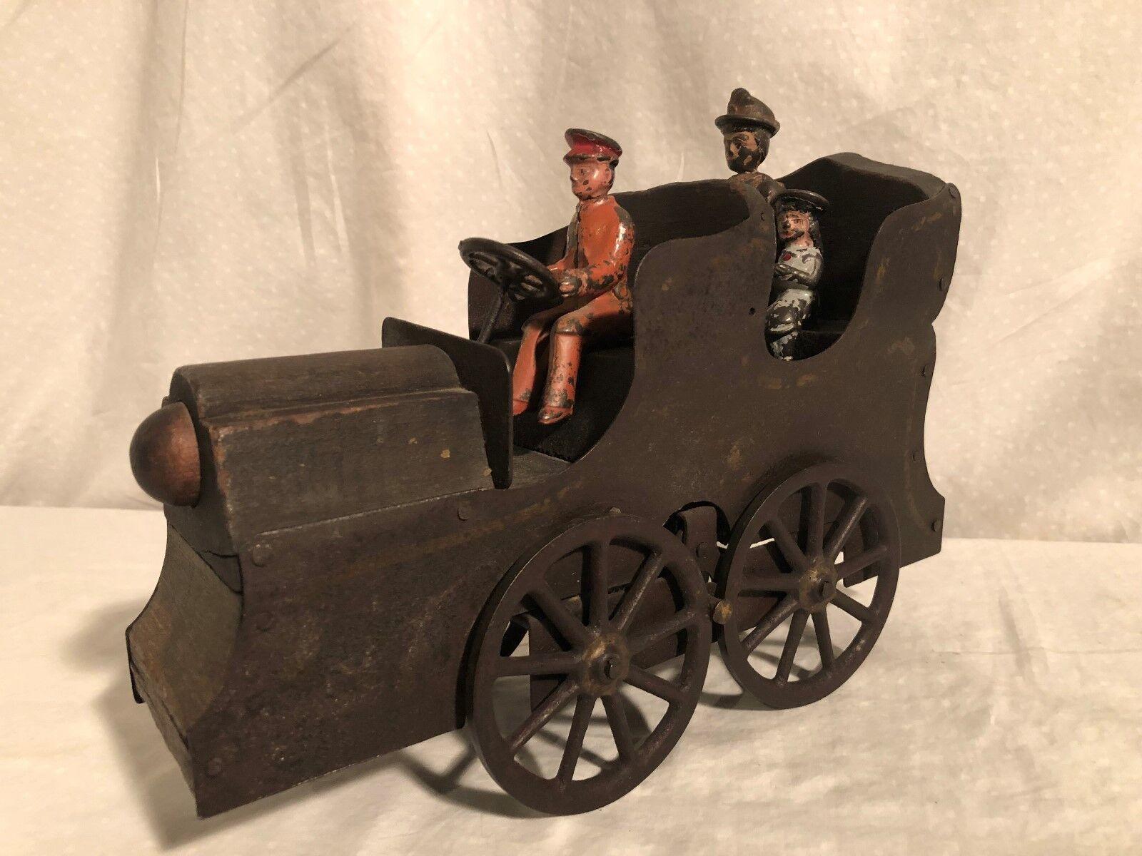 Dp Clark Horseless Carosse Dayton Jouets Friction Petite Enfance Auto Fonte