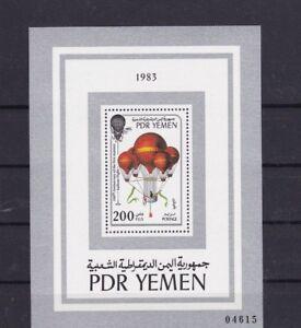 (f) Yemen Bl.16** Ballon 1983 Balloon