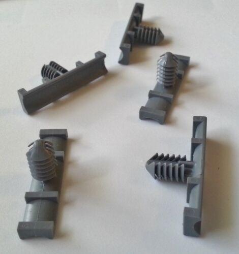 5 pcs nylon fasteners wiring harness retainers clips 9mm x 37mm fit rh ebay com