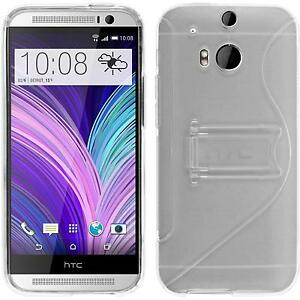 Silicone-Case-for-HTC-One-M8-transparent-protective-foils