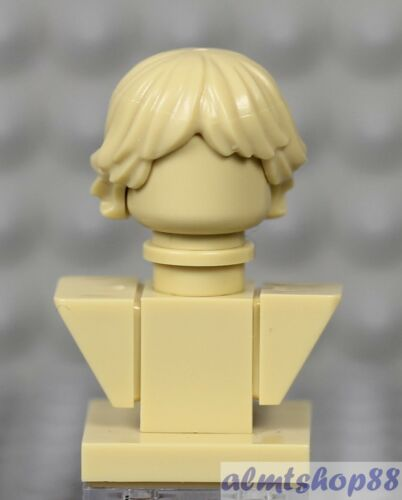 LEGO Hair Head Torso Plain Solid Monochrome Male Female Minifigure Busts
