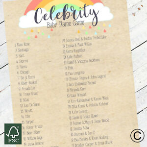 Baby-Shower-Games-Celebrity-Baby-Name-Game-Baby-Shower-Party-Boys-Girls-Unisex