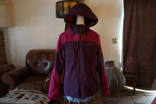Patagonia God 100 Medium Jacket Lilla Brugt Windstopper Nylon Women's rRqrf78