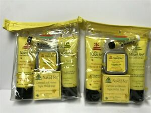Lot-of-2-Sets-The-Naked-Bee-5pc-Travel-Set-Older-Stocks-See-details