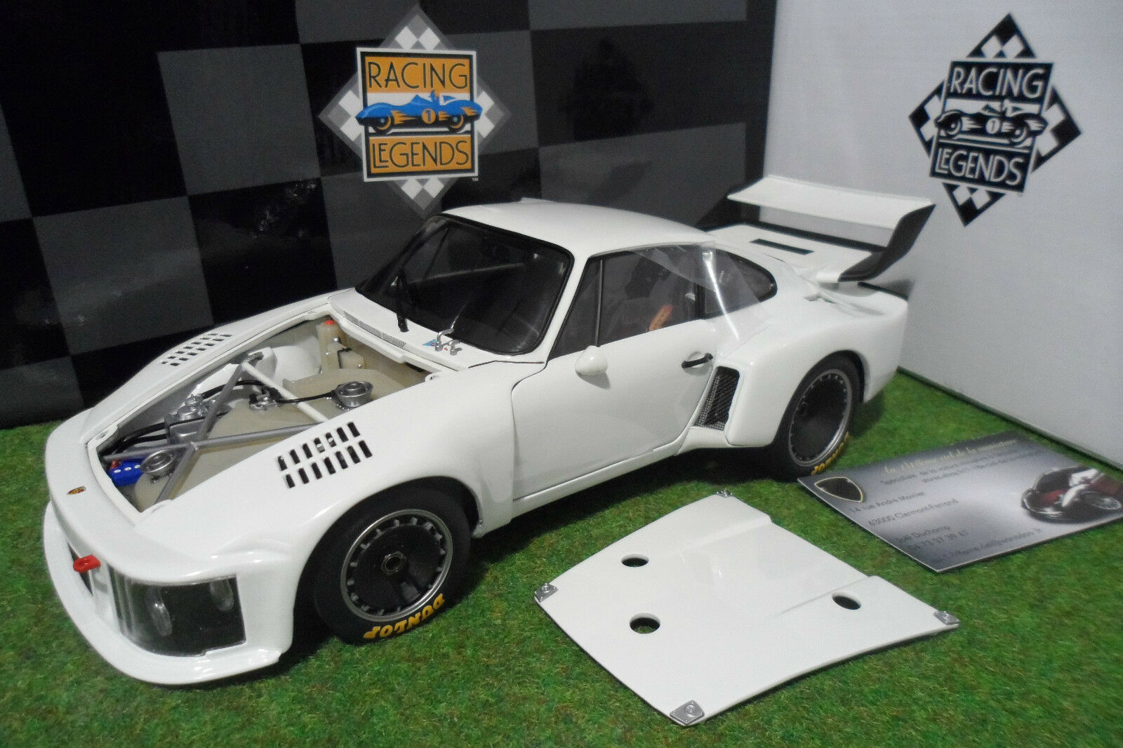 PORSCHE 935 Turbo Street bianco Works Prossootype 1976 au 1 18 EXOTO RLG18100