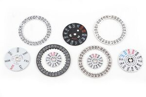 SEIKO-Day-Date-Dial-Disk-Ring-Mechanical-Quartz-Watch-Part-Genuine-Japan-NOS