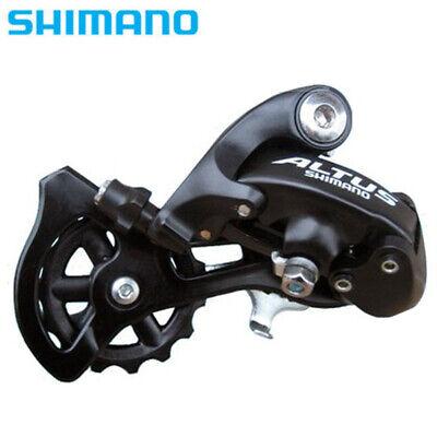 Altus Shimano RD-M310 7//8-Speed Rear Derailleur Black Rear Mech 21//24 speed Long
