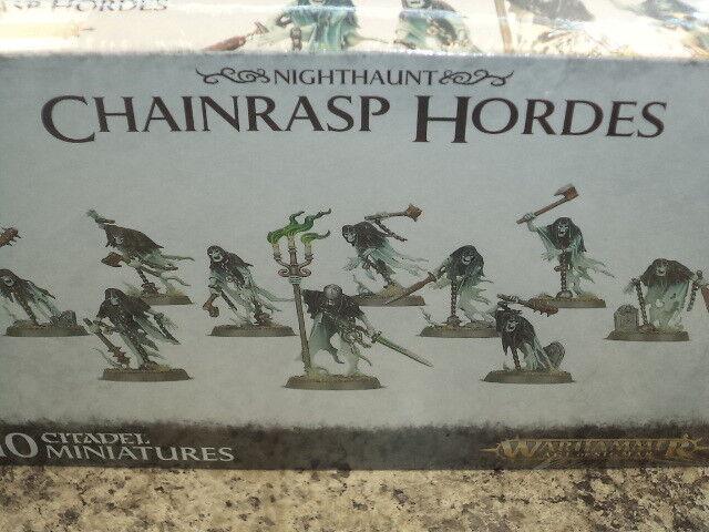 alta calidad Chainrasp hordas nighthaunt Warhammer edad edad edad de Sigmar Modelo Nuevo   Envio gratis en todas las ordenes