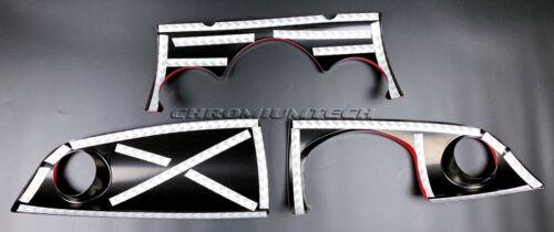 MK1 MINI Cooper//S//ONE JCW R50 R52 R53 Chequered Flag Dashboard Cover for RHD