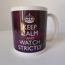Strictly Come Dancing Keep Calm Mug Purple Cup Gift Carry On Personalised 4 Free