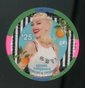 $25 Planet Hollywood Gwen Stefani Just a Girl Residency LAS VEGAS CASINO CHIP
